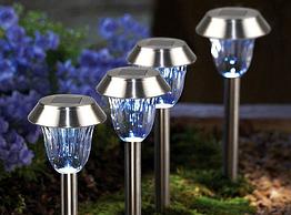 Грунтовый садово-парковый светодиодный светильник Lemanso CAB120 белый
