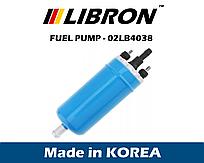 Бензонасос LIBRON 02LB4038 (аналог 0580464038 - Bosch), ALFA ROMEO, BMW, CITROEN, FIAT, OPEL, PEUGEOT, VW и др