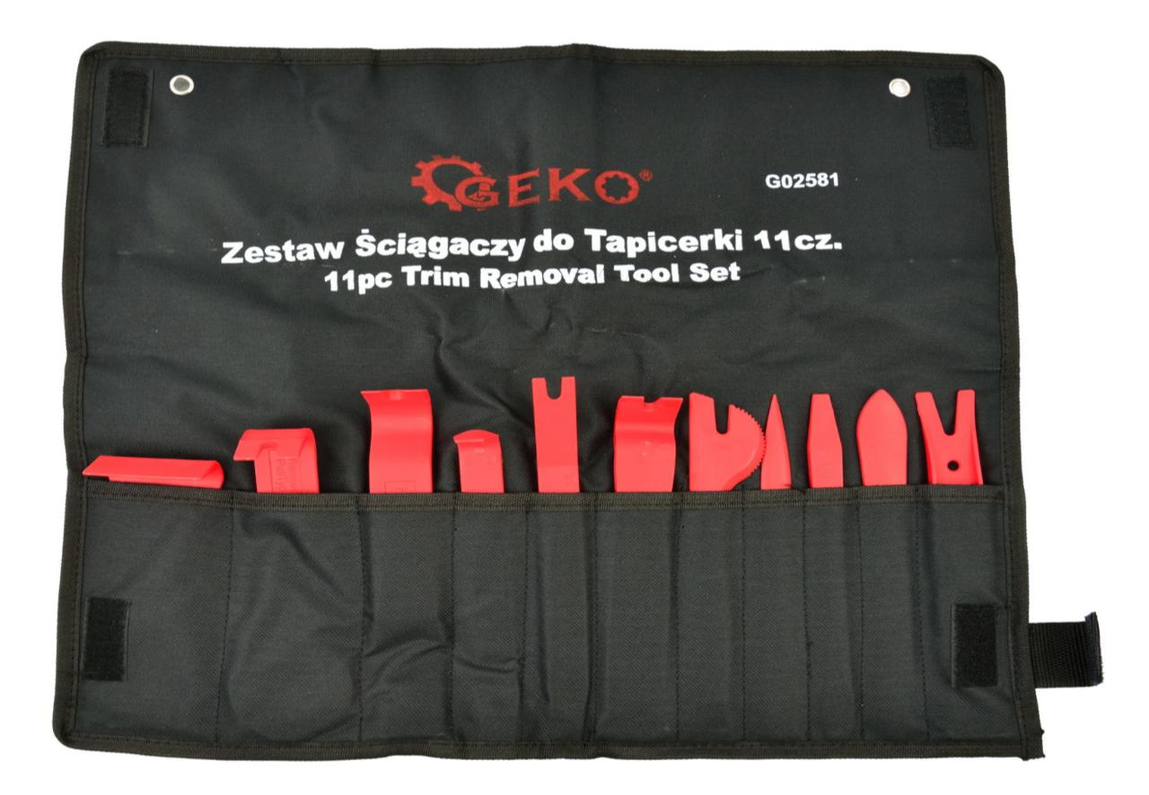 Набір знімачів для оббивки 11 предметів GEKO G02581