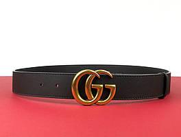 Женский пояс Gucci 3,4 см (Гуччи) арт. 70-02