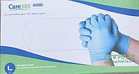 Перчатки Nitryle Premium светло синие нитриловые нестерильные неприпудренные, 50пар (100шт), размер L, фото 1