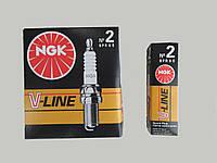 Свечи зажигания NGK V-Line 02 BMW, Nissan, Open, Mazda, Volvo, Porsche, Renault, Mitsubischi, Honda, Ford