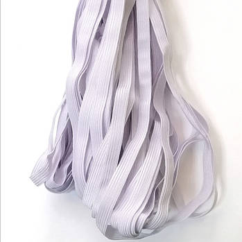 Резинка трикотаж плоская 50 м/ 0,9 см, белая
