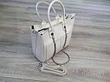 Шкіряна сумка жіноча, фото 3