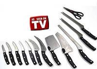 Набор ножей Miracle Blade World Class (Мирэкл Блэйд) 12 шт плюс кухонные ножницы