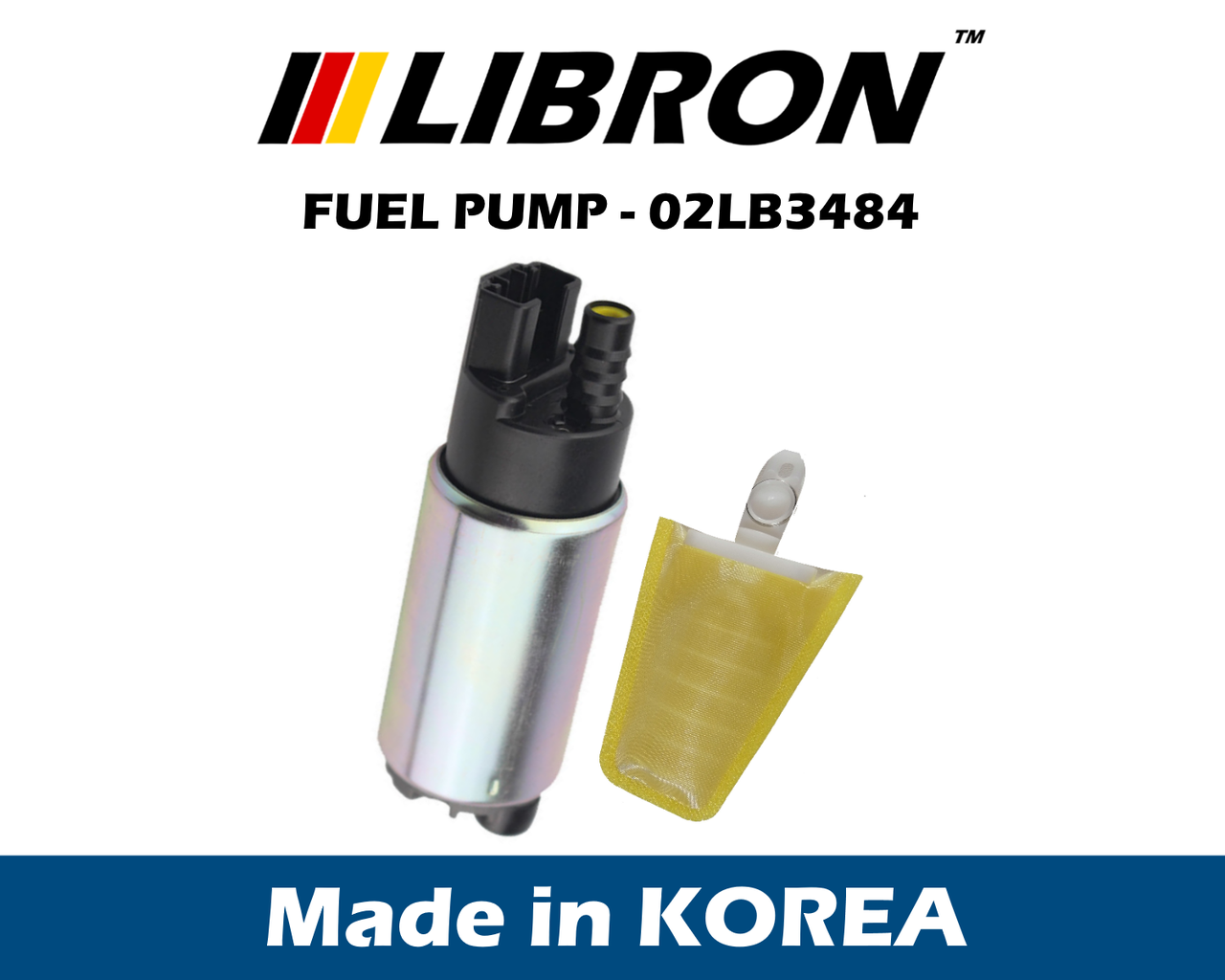 Топливный насос LIBRON 02LB3484 - HONDA CIVIC V купе