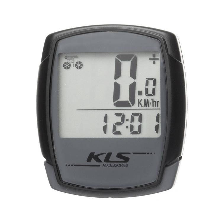 Велокомп'ютер дротовий KLS Digit 9 Grey, фото 2
