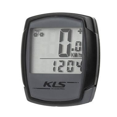 Велокомп'ютер дротовий KLS Digit 9 Grey, фото 3