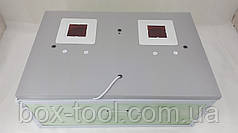 Инкубатор Курочка Ряба с цифровым терморегулятором на 100 яиц обшит пластиком