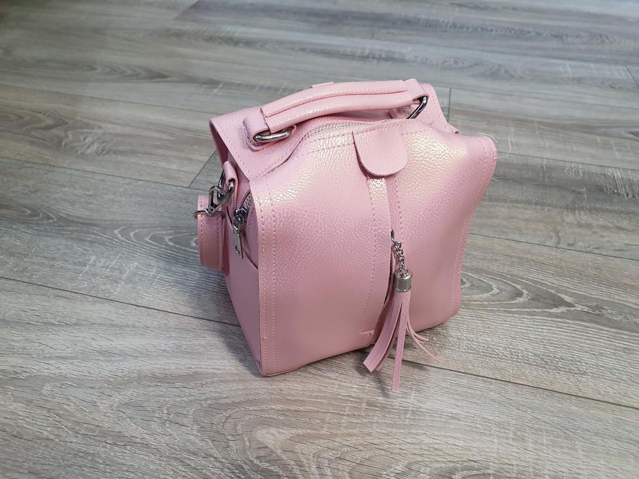 Сумочка жіноча Inshoes рожева