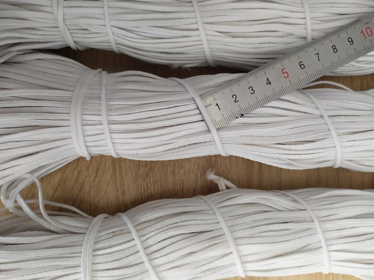 Гумка плоска з поліефіру біла 2,5 мм 100 м