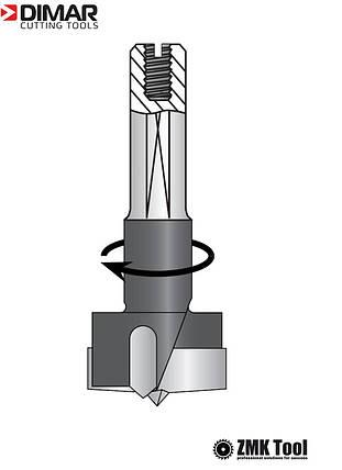 Свердло DIMAR чашкове 15x57.5 праві оберти, фото 2