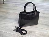 Сумочка  жіноча Inshoes чорна, фото 2
