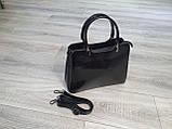 Сумочка  жіноча Inshoes чорна, фото 3