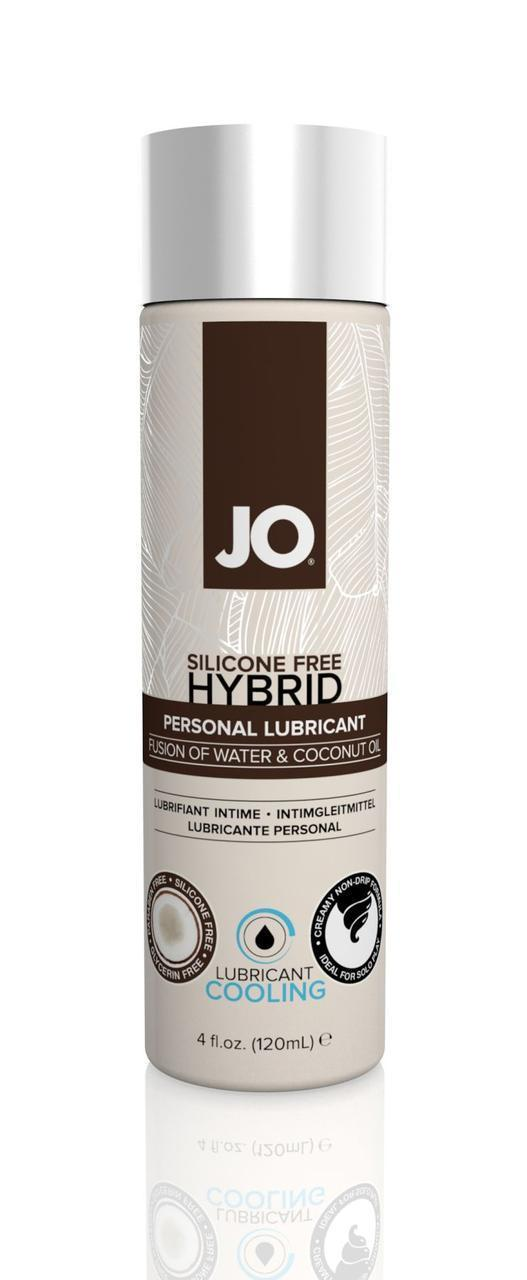 (SALE) Лубрикант с кокосовым маслом System JO SILICONE FREE HYBRID - COOLING 120мл (срок 01.10.2020)