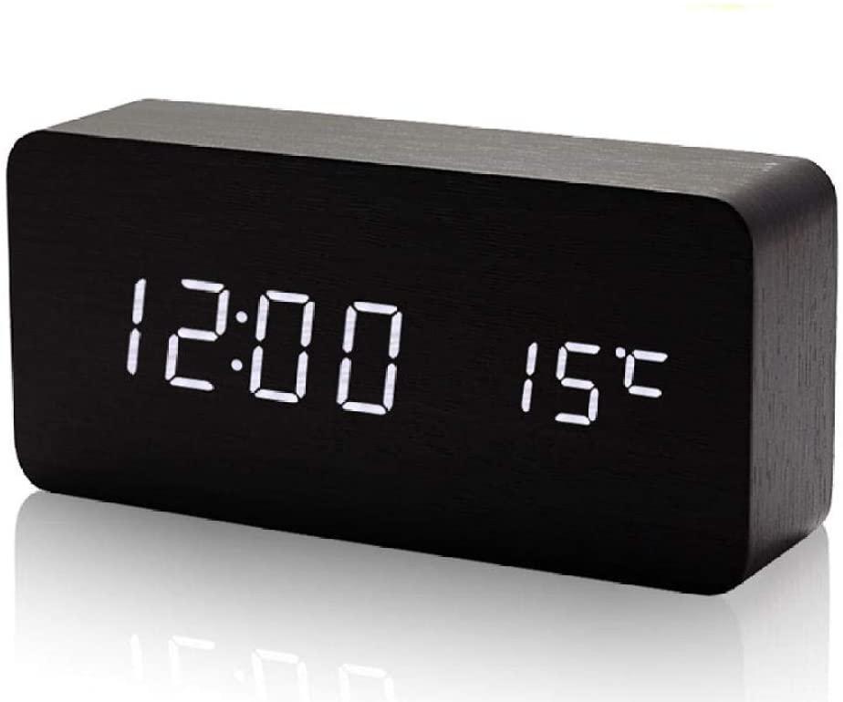 Настольные электронные часы VST-862 дерево