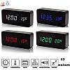 Настольные электронные часы VST-862  в деревянном корпусе с температурой, фото 4