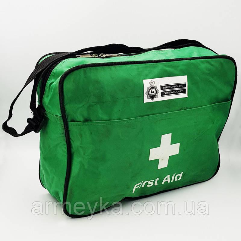 Медична сумка First aid (аптечка). Великобританія, оригінал.