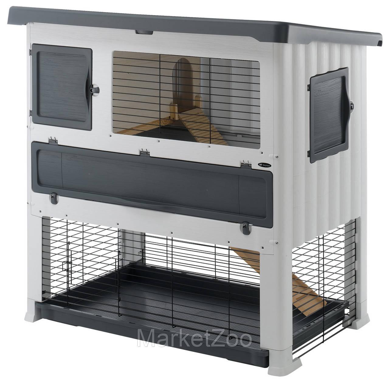 Пластиковая клетка Ferplast GRAND LODGE 120 PLUS для кроликов