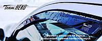 "Дефлекторы окон ""Heko"" для Volkswagen Golf 6 (5K1) hatchback (хетчбек) 4D 2008-2013 года комплект"