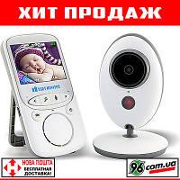 """СКИДКА! Беспроводная цифровая видеоняня (радионяня) VB605 с дисплеем 2.4""""  и термометром! (видео радио няня)"""