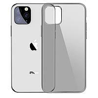 Чехол Baseus для iPhone 11 Pro Max Simplicity Прозрачный черный (ARAPIPH65S-01)