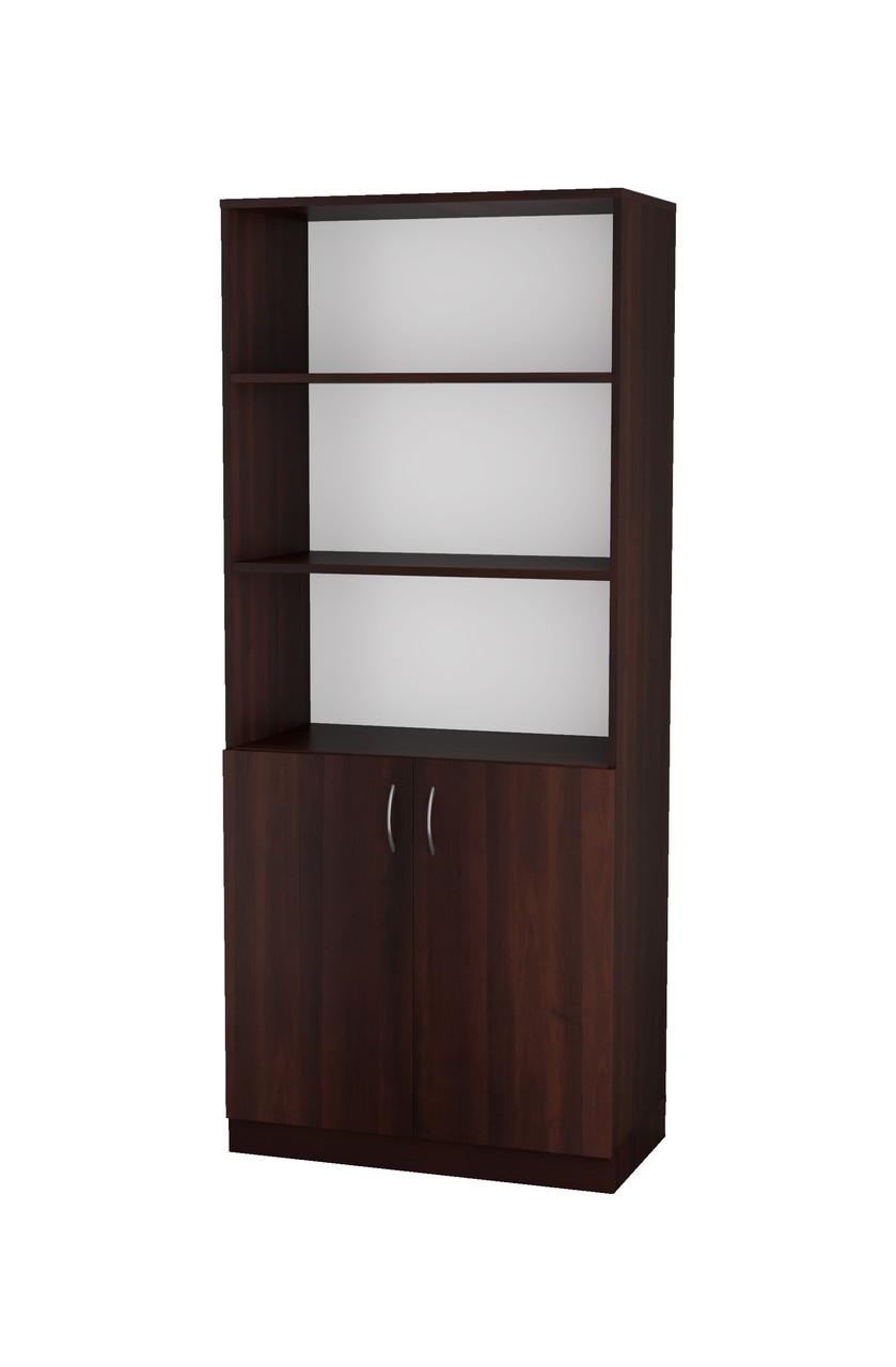 Шафа-пенал для книг та документів 2-х дверна (80х40х188см)