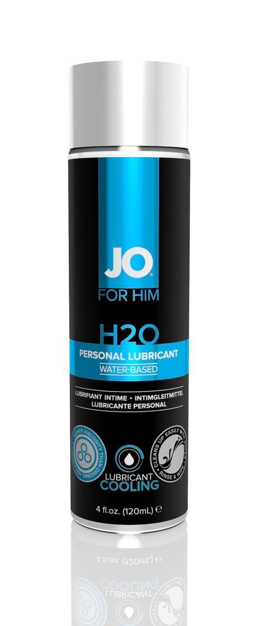 Лубрикант на водной основе System JO FOR MEN H2O - COOLING (120 мл)