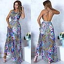 Легкое платье - сарафан в пол, фото 2