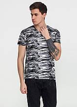 Сіра футболка камуфляжна MSY M