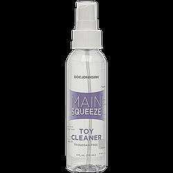 Чистящее средство для игрушек Doc Johnson Main Squeeze Toy Cleaner (118 мл) антибактериальный 18+