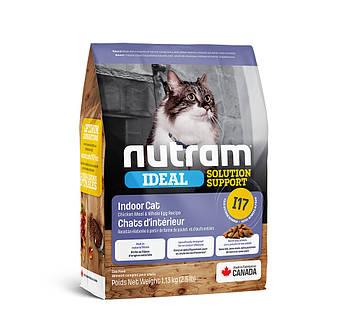 Сухой корм для привередлевых кошек живущих дома I17 NUTRAM 1,13 кг