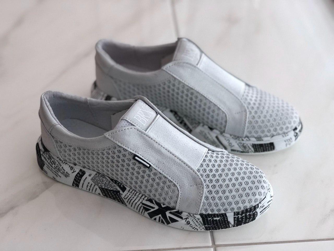 Кожаные женские кроссовки Broxci 21802 размер 36