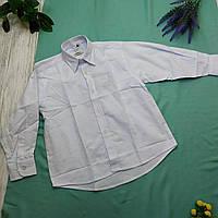 Рубашка подросток George (Англия) Рост 140 коттон белый