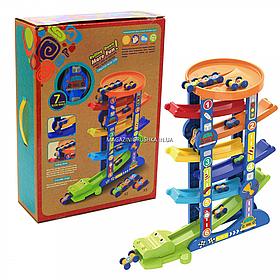 Игровой набор паркинг Крокодил, 6 уровней (6266A)