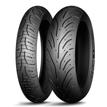 Шина мотоциклетная задняя MICHELIN Pilot Road 4 160/60ZR17 (69W)