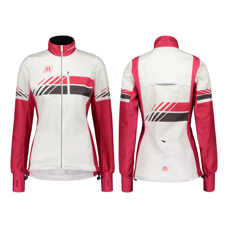 Мастерка Noname WS RUNNING JACKET PLUS WO'S 20 WHITE PINK
