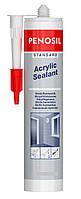 Герметик акриловый Acrylic Sealant Standart Penosil эластичный белый 280 мл, фото 1