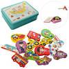 Деревянная игрушка Рыбалка для детей  в коробке 02030