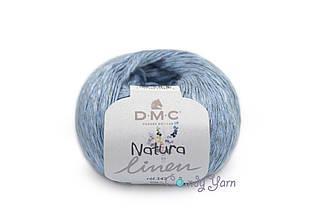 DMC Natura Linen, Голубой №07