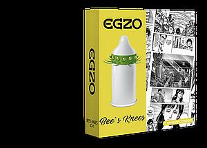 Насадка на член EGZO Bees knees (презерватив с усиками) 18+
