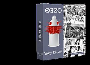 Насадка на член EGZO Uglu Coyot (презерватив с усиками) 18+