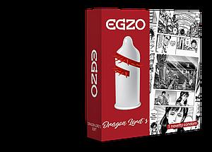 Насадка на член EGZO Dragon Lords (презерватив с усиками) 18+