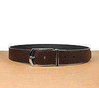 Двусторонний коричневый ремень Louis Vuitton (Луи Витон) арт. 61-01, фото 1