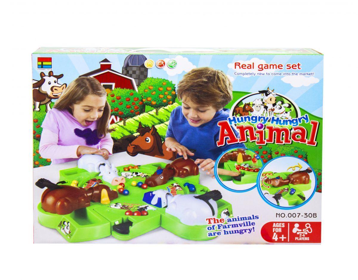 Настольная игра Голодные животные KINGSO TOYS