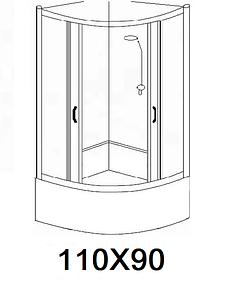 Гідробокси розміром 110х90