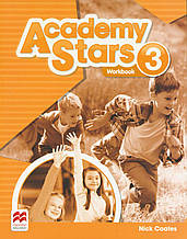 Робочий зошит Academy Stars 3 Work book(UA)