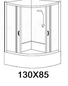 Гідробокси розміром 130х85