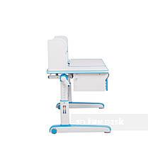 Комплект для мальчика стол-трансформер FunDesk Libro Blue + подростковое кресло FunDesk Primo Grey, фото 2