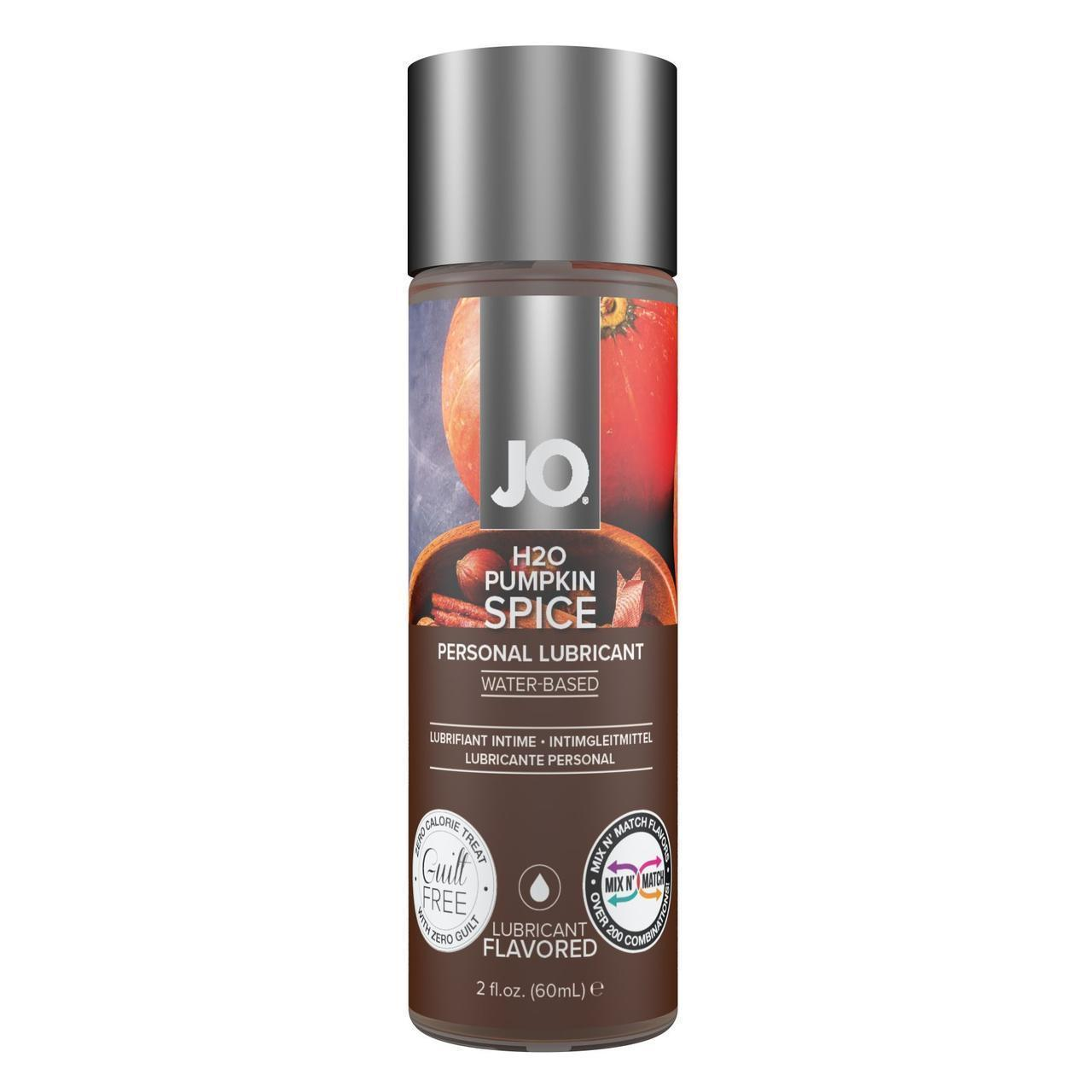 Лубрикант на водной основе System JO H2O - Pumpkin Spice - Limited Edition (60 мл)